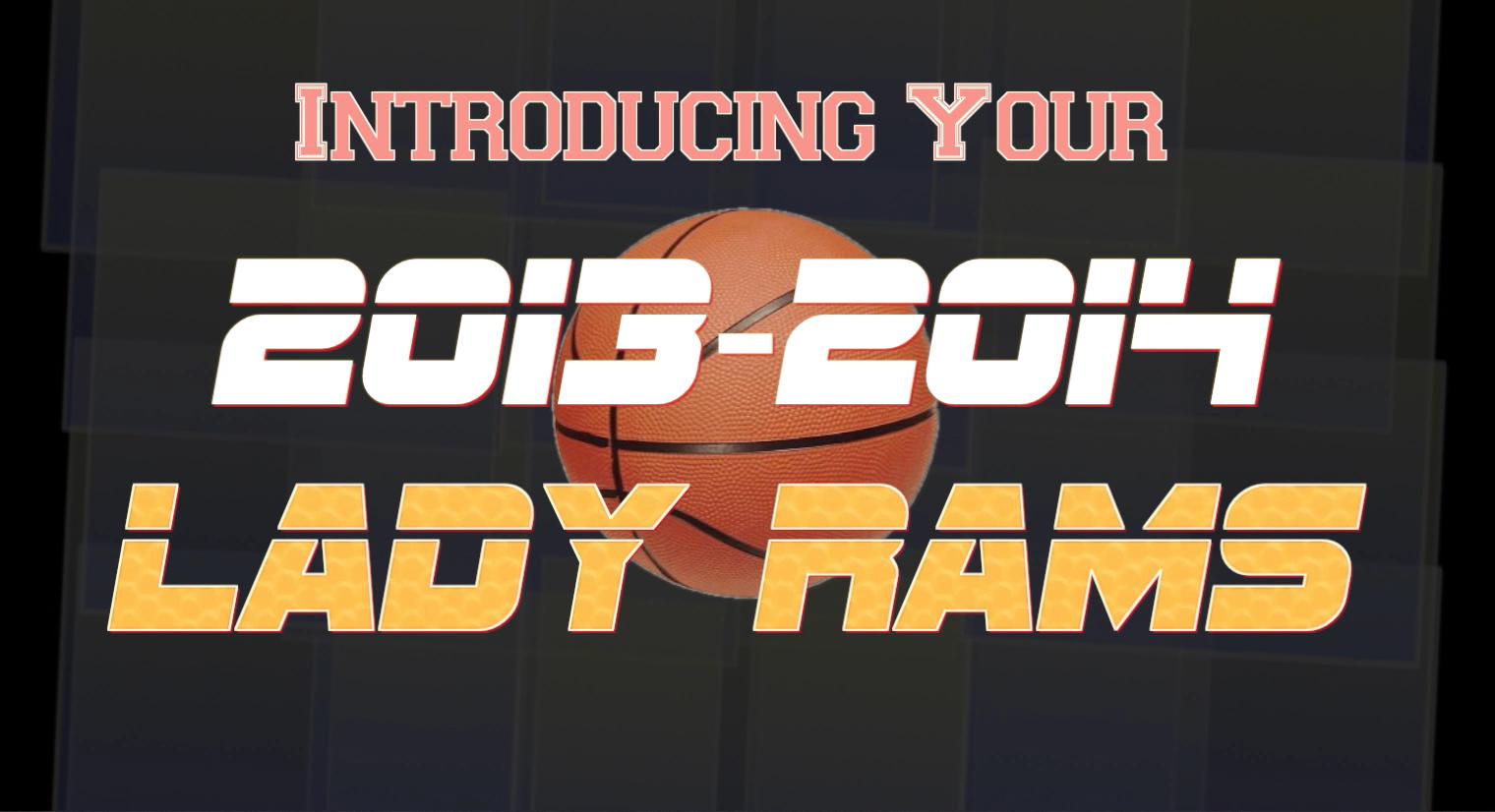 Lady Rams Winter 2013-2014 Pep Rally