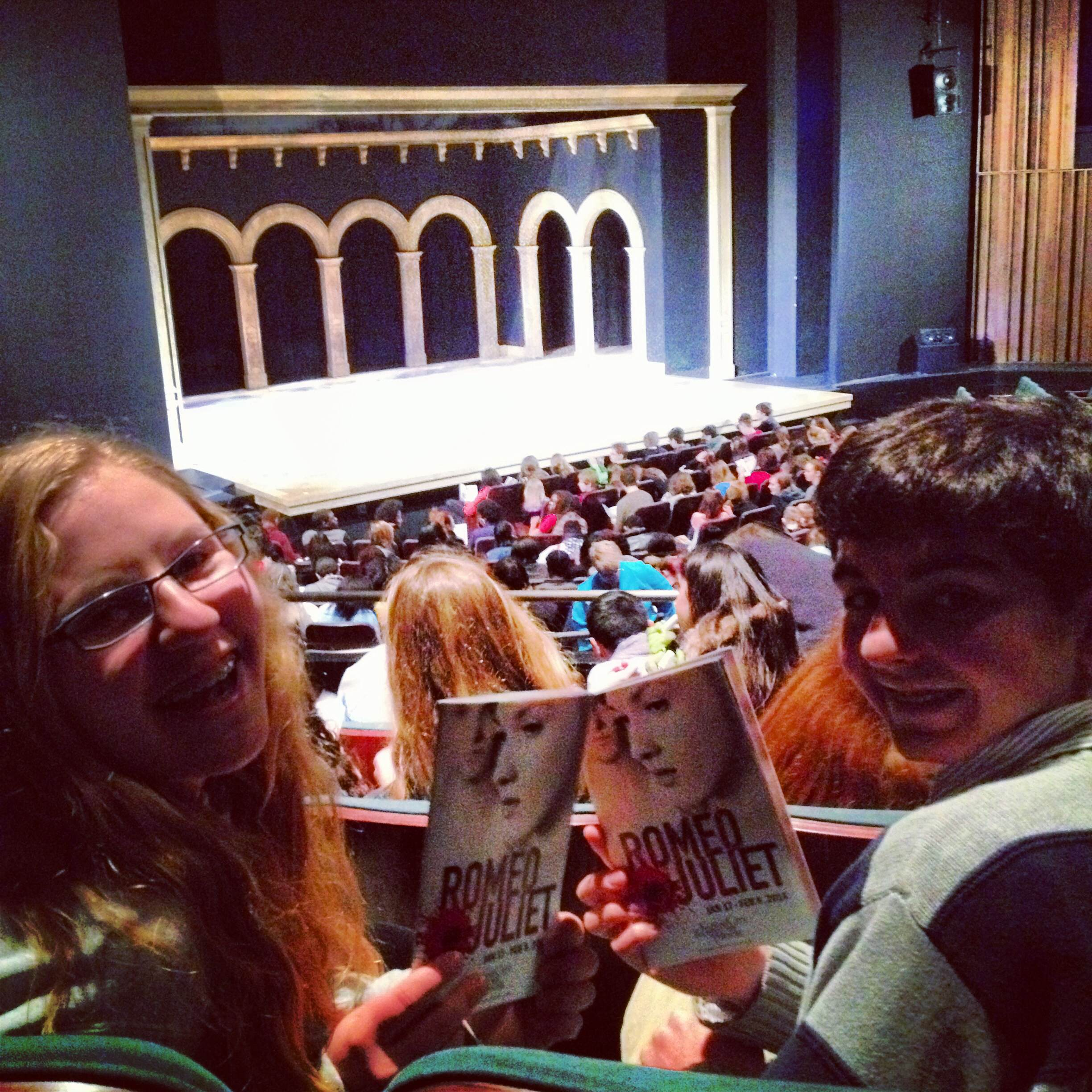 """A Theatrical Field Trip: """"Romeo and Juliet"""""""