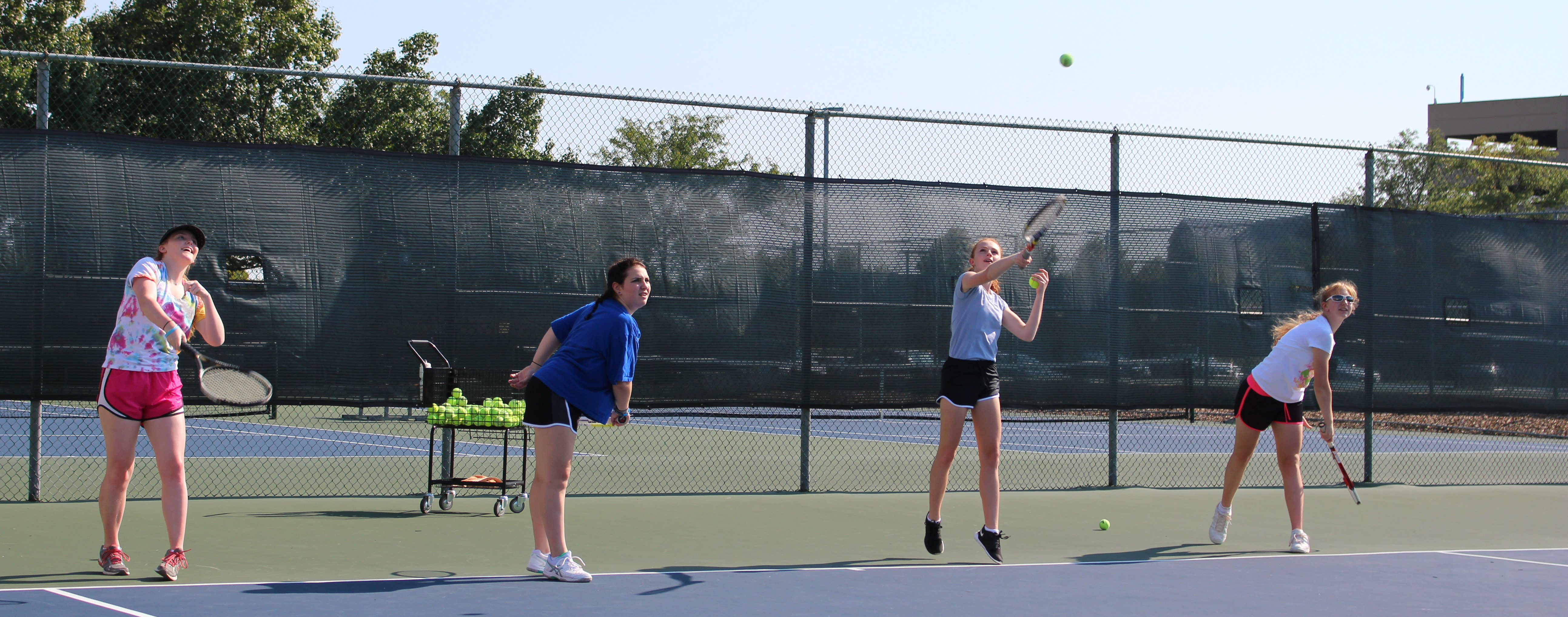 What's all the Racket about Varsity Girls Tennis?