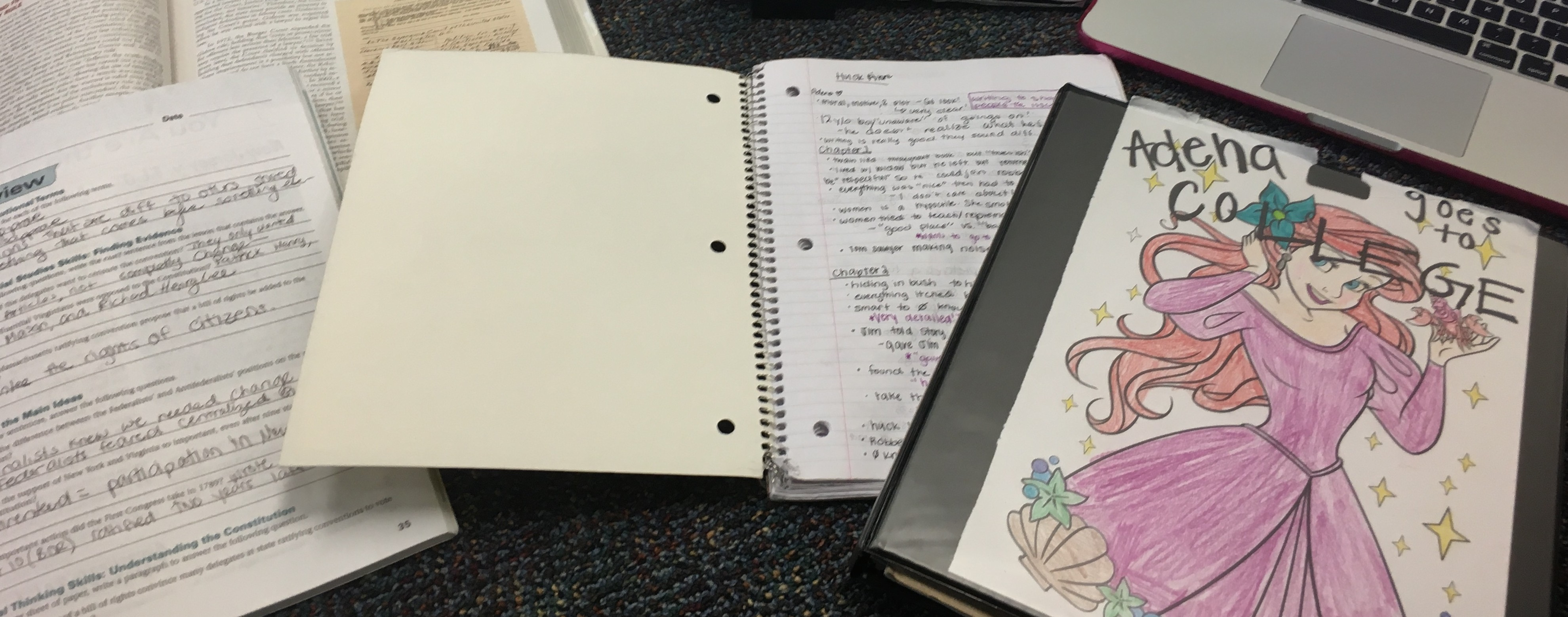 College and Homework and Extracurriculars: OH MY!