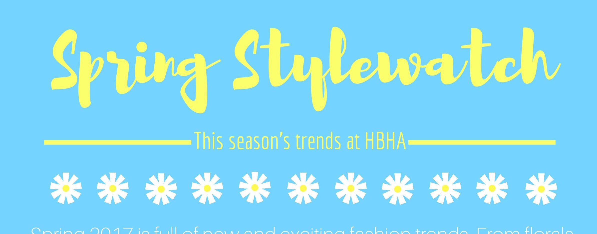 Spring 2017 Fashion Review
