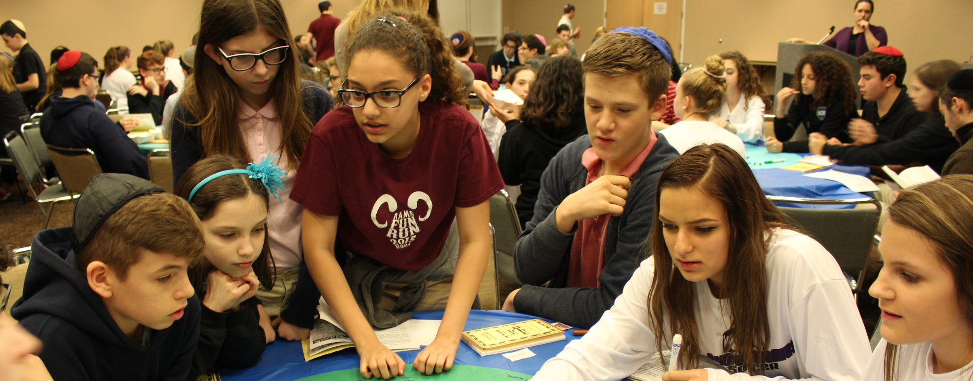 Creative Model Seder Gives Students a New Passover Experience