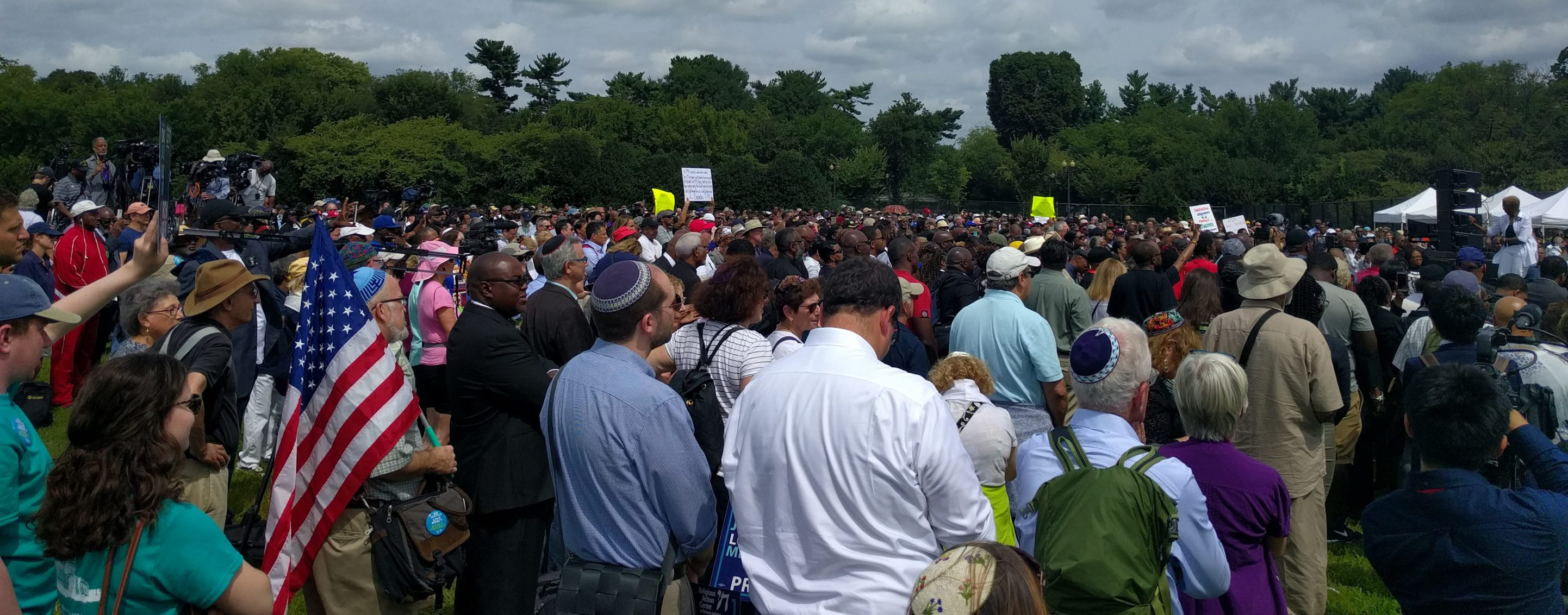 54 Years After Historic March On Washington, Over 3000 Religious Leaders Continue the March For Civil Rights