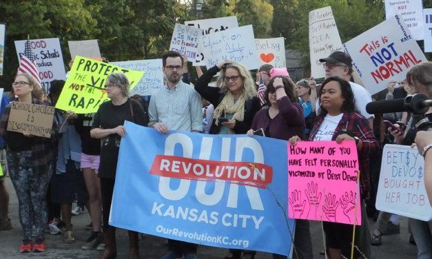 US Secretary of Education Betsy DeVos' Visit To Kansas City Sparks Protest